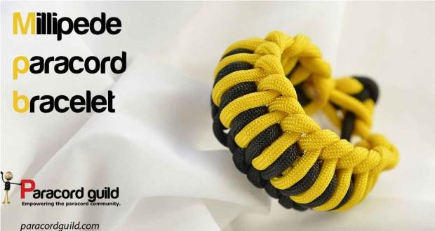 millipede paracord bracelet