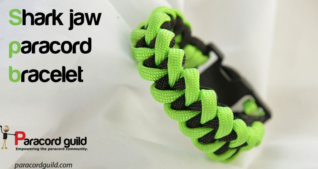 Shark Jaw Bone Bracelet Paracord Guild