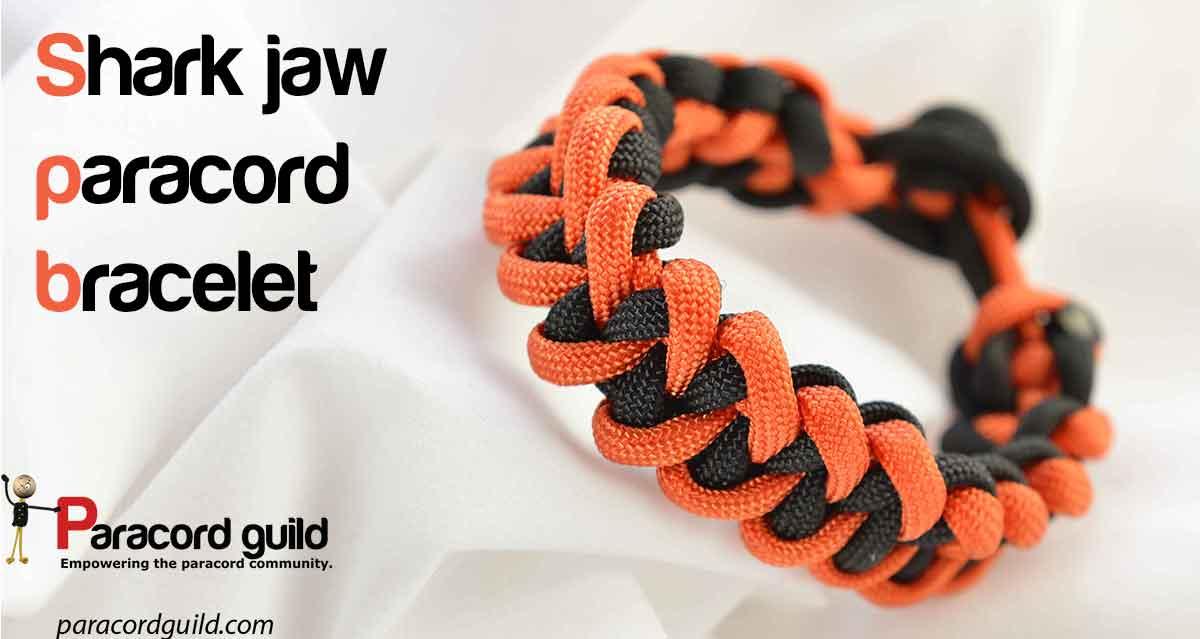 Shark Jaw Bone Bracelet Paracord Guild