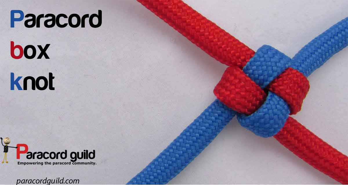 How To Make A Box Knot Paracord Guild