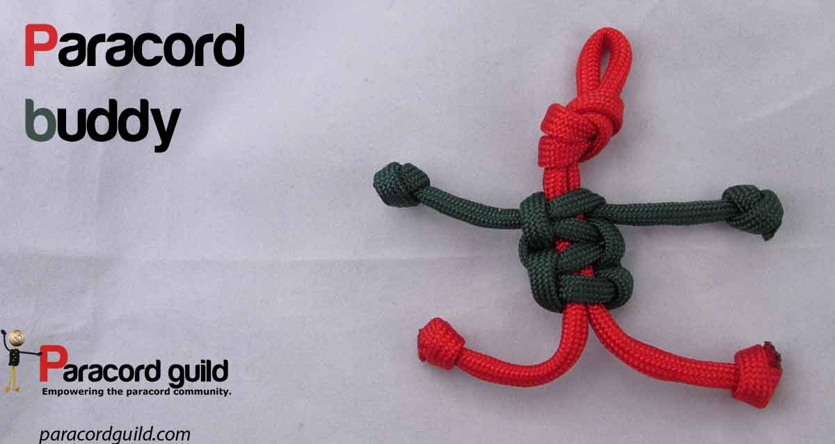 What to do with paracord scraps paracord guild for How to make a keychain out of paracord
