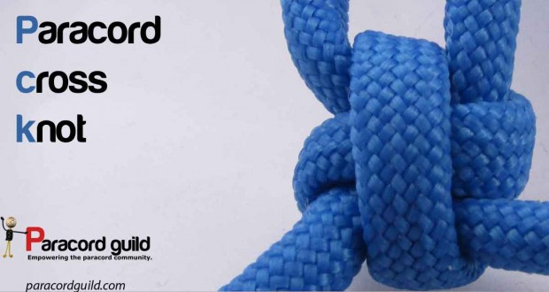 How to make a cross knot paracord guild for Paracord cross instructions