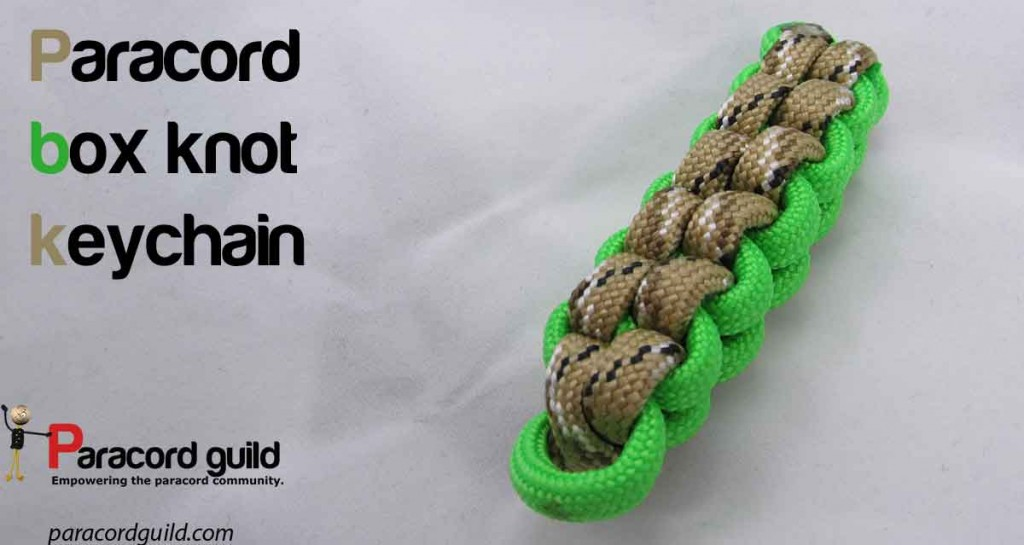 paracord-square-knot-keychain