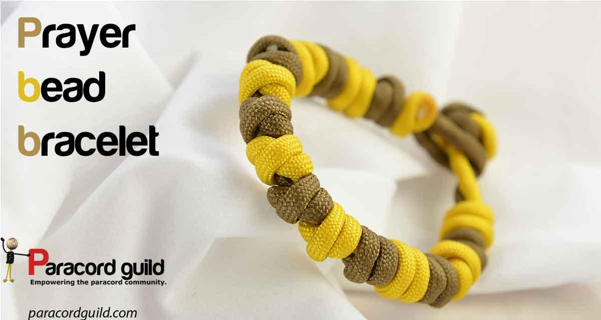 Prayer bead paracord bracelet - Paracord guild