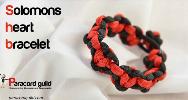 solomons-heart-paracord-bracelet