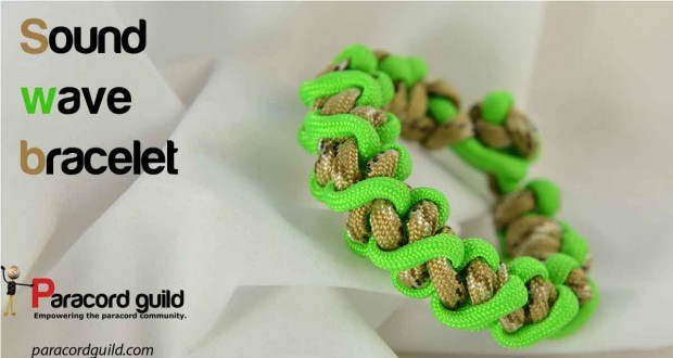sound-wave-paracord-bracelet