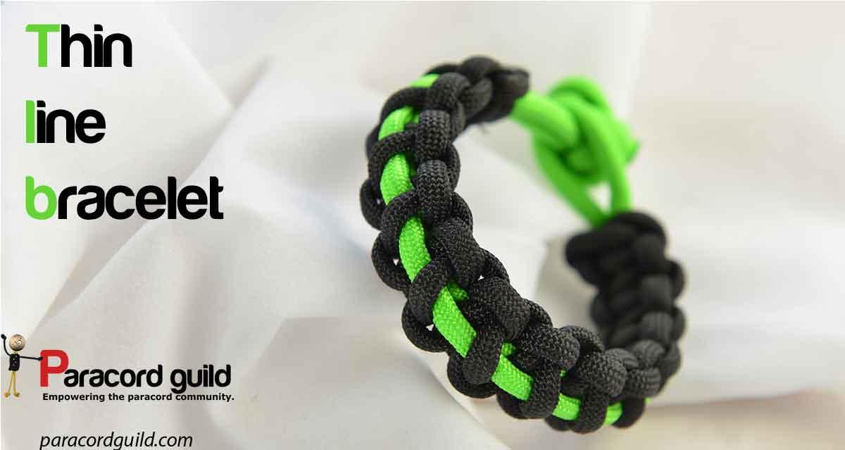 Thin Line Paracord Bracelet Guild