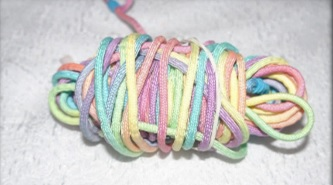 dyed paracord
