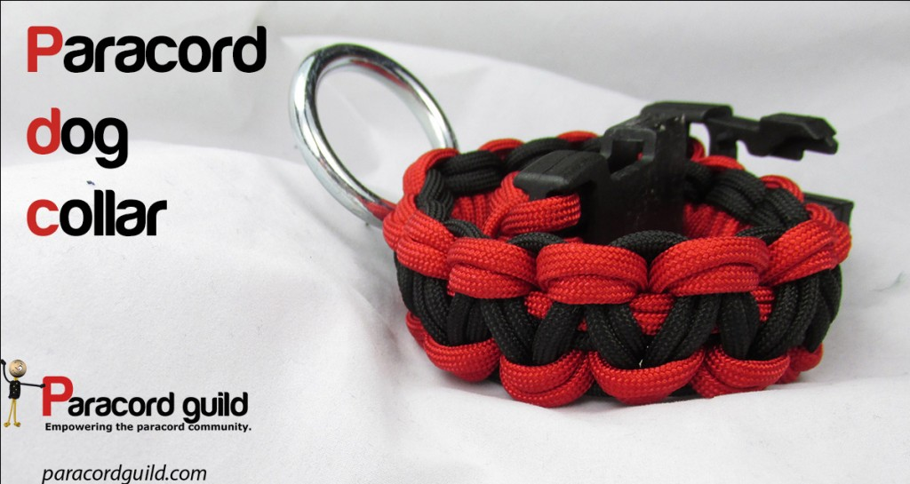 How to make a paracord dog collar oliefantasie for Paracord leash instructions