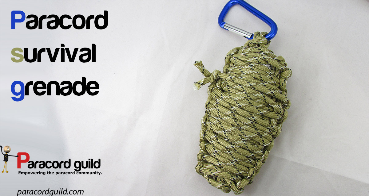 How to make a paracord grenade paracord guild