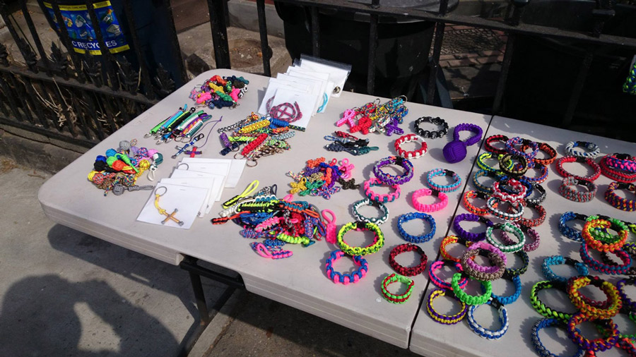 Selling Paracord Bracelets At Craft Shows