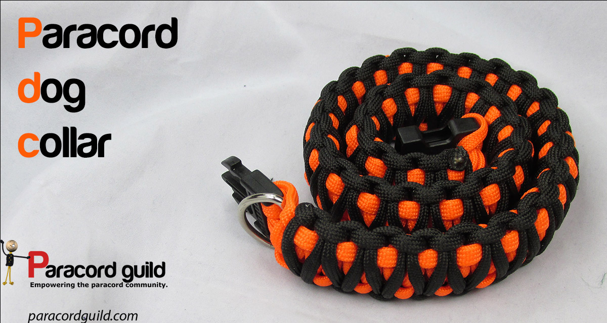 How to make a paracord dog collar paracord guild for Paracord leash instructions