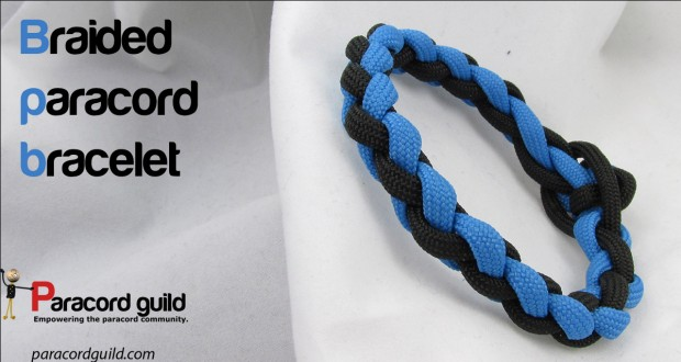 how to braid a paracord bracelet