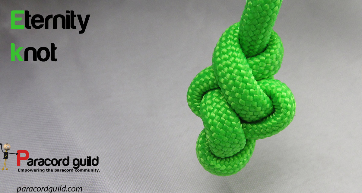 How to tie an eternity knot - Paracord guild