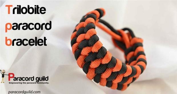 trilobite paracord bracelet