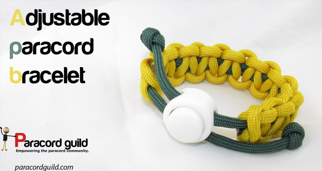 How to make an adjustable paracord bracelet - Paracord guild