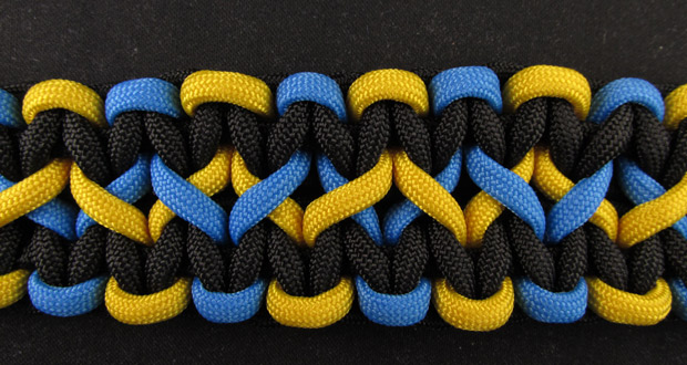 How To Make A Wide Paracord Bracelet Paracord Guild