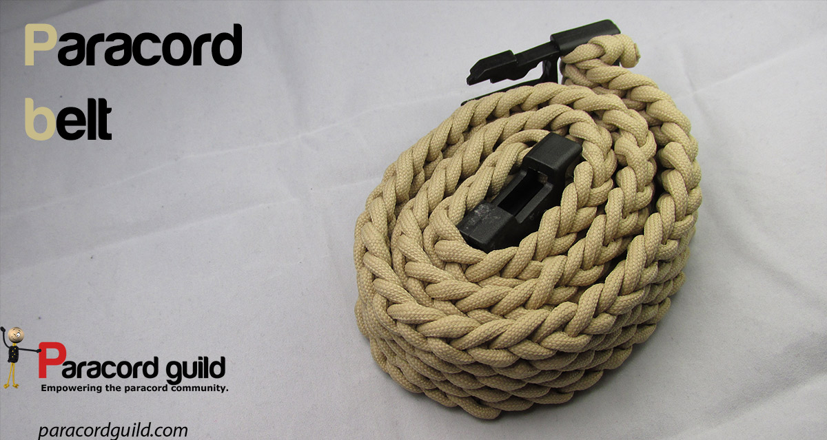 How to make a paracord belt paracord guild