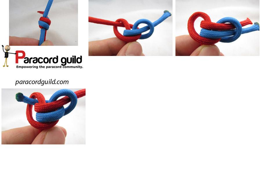 2 strand extended matthew walker knot