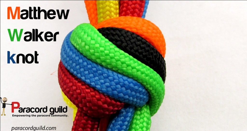How to tie a Matthew Walker knot - Paracord guild