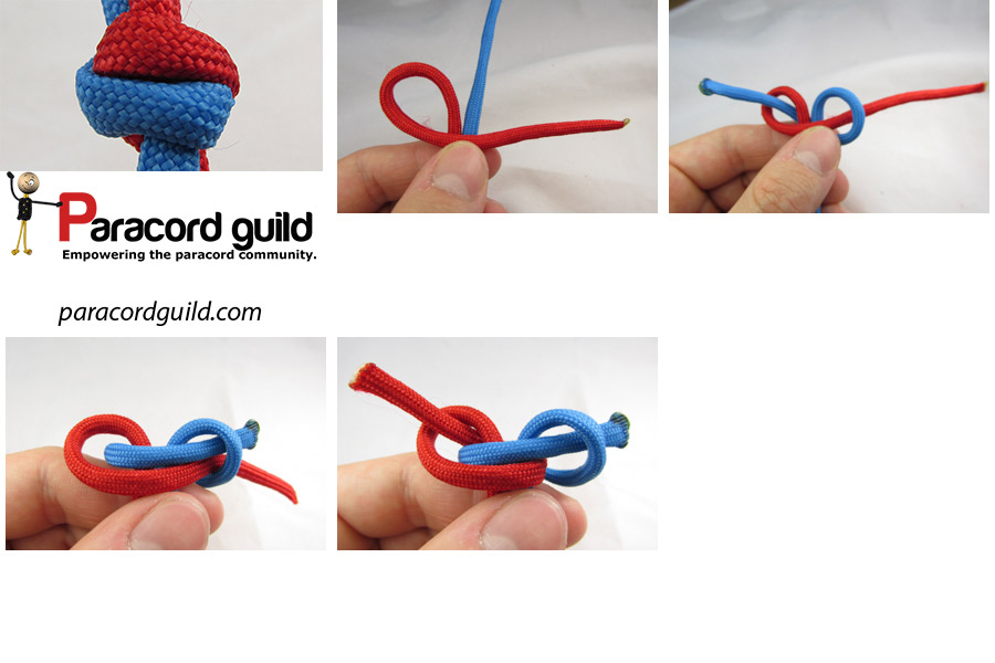 two strand matthew walker knot instructions