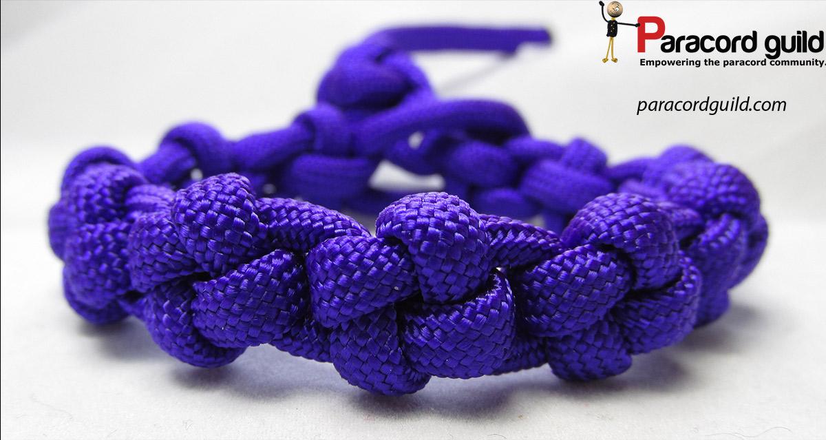 Cross Knot Paracord Bracelet Paracord Guild