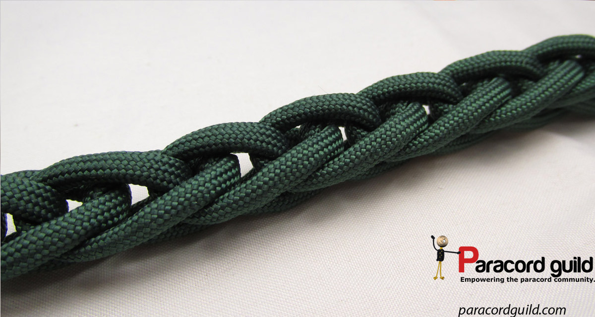 Finger Knitting Uses : How to finger knit paracord guild