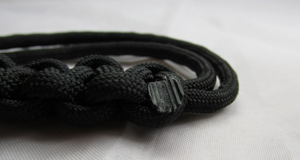 finishing paracord projects