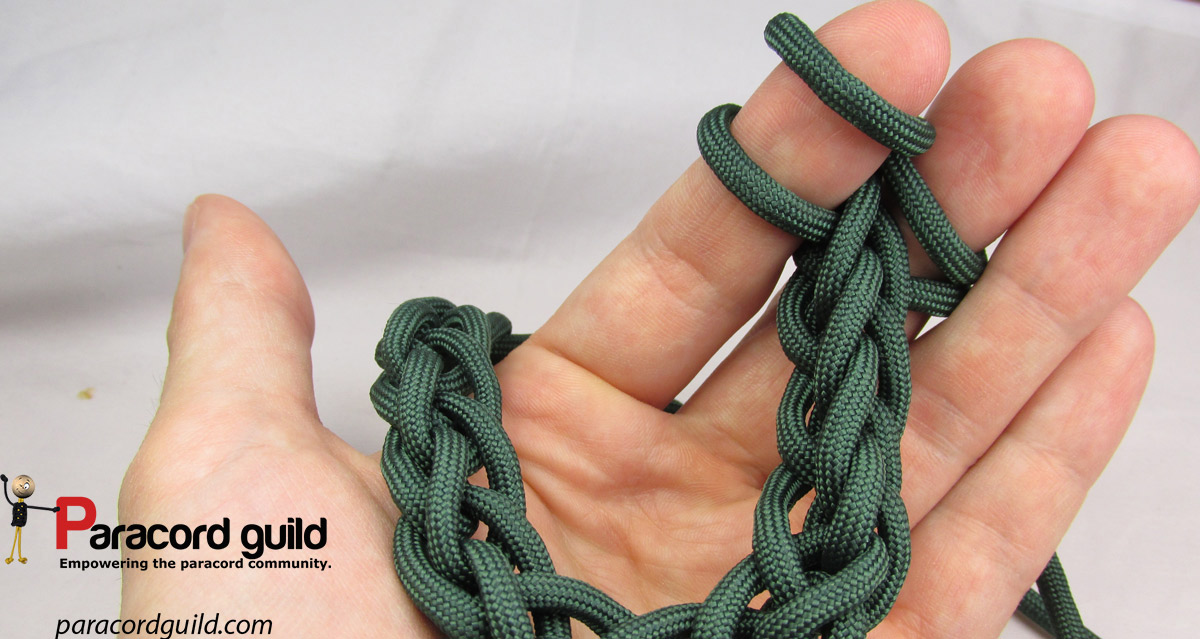 Finger Knitting Starting Knot : How to finger knit paracord guild