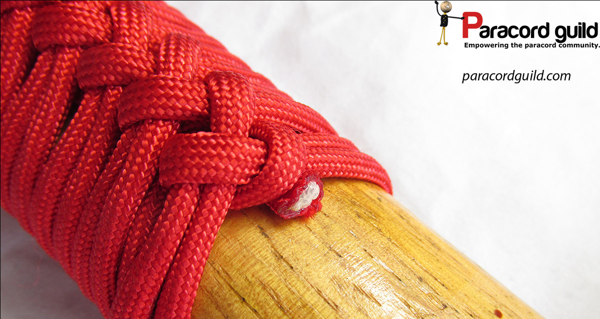 How To Make A Paracord Axe Handle Wrap Paracord Guild