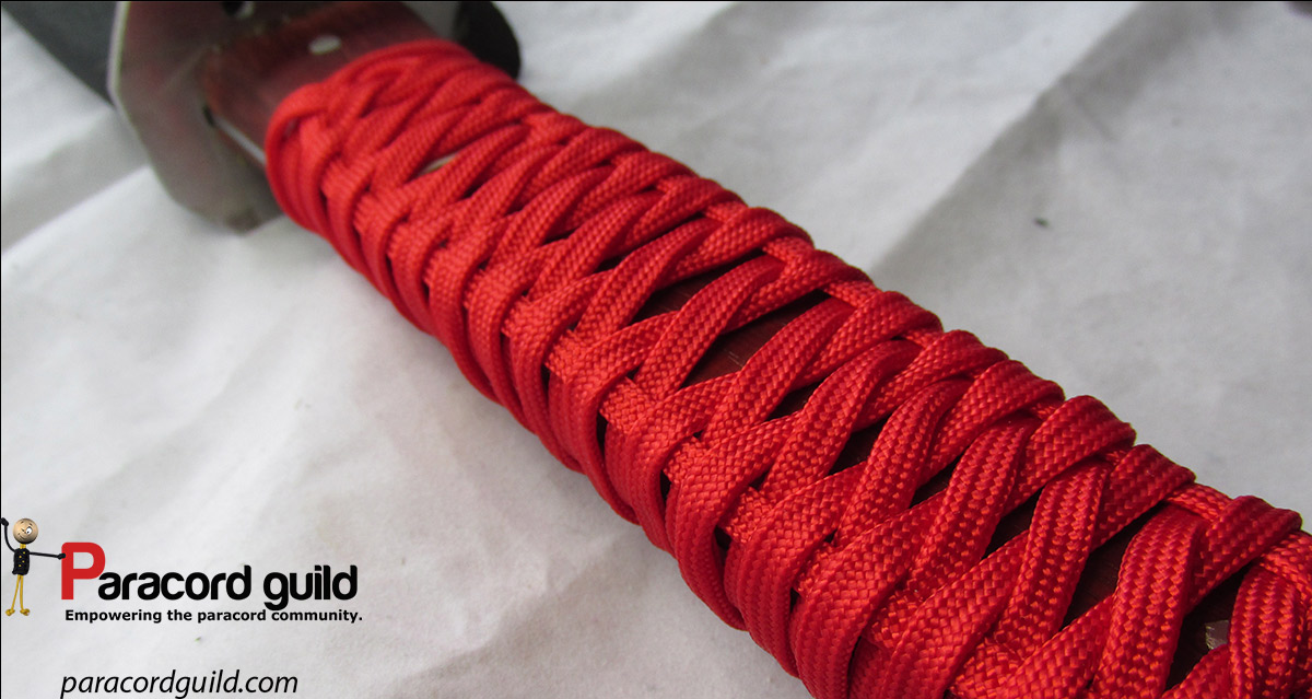 How To Make A Paracord Knife Wrap Paracord Guild