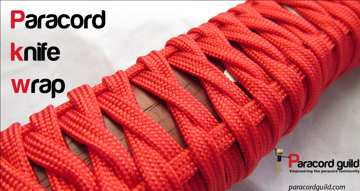 how to make a paracord knife handle images