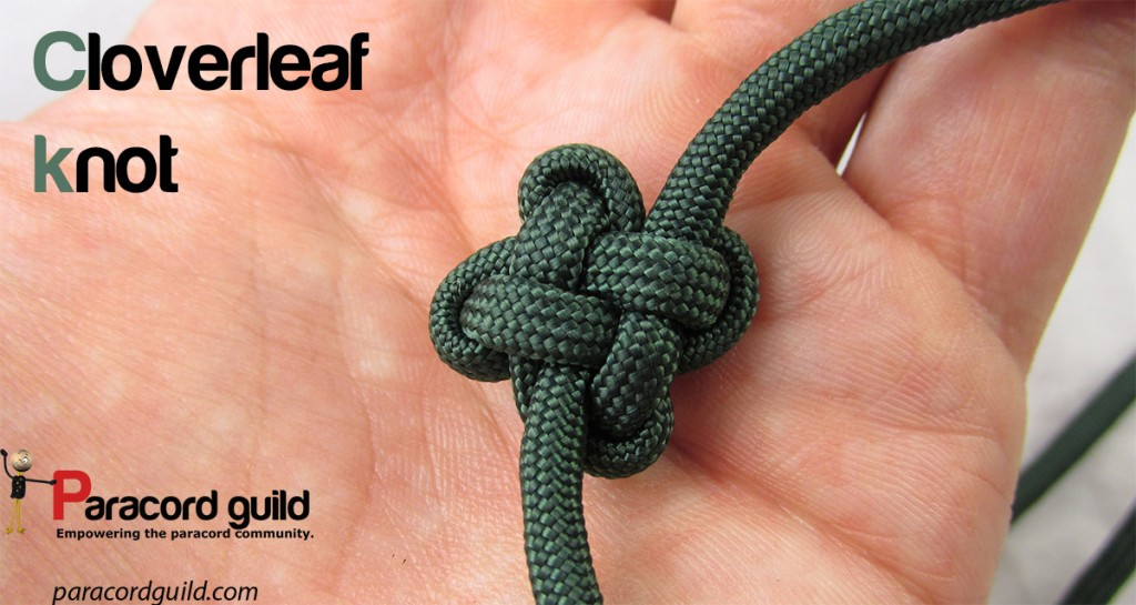 How To Tie The Cloverleaf Knot Paracord Guild
