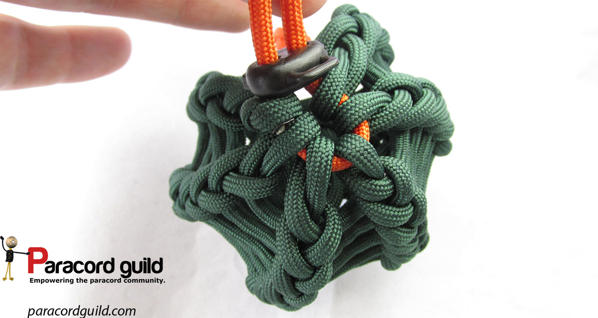 How to make a paracord can coozie paracord guild for Paracord case