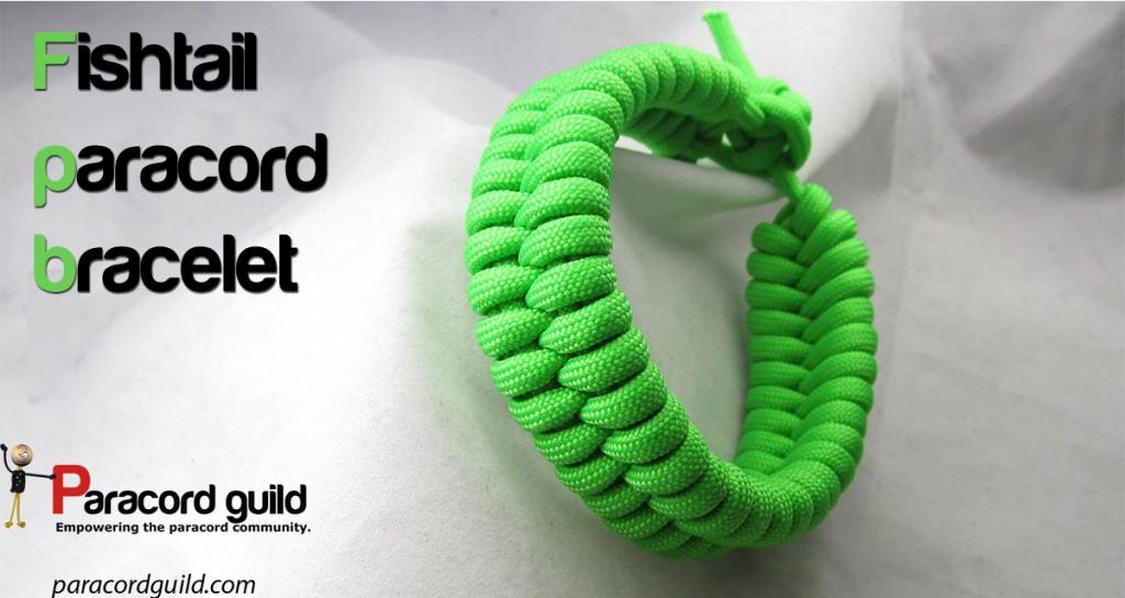 Quick deploy fishtail paracord bracelet - Paracord guild