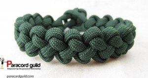 single color zipper sinnet bracelet