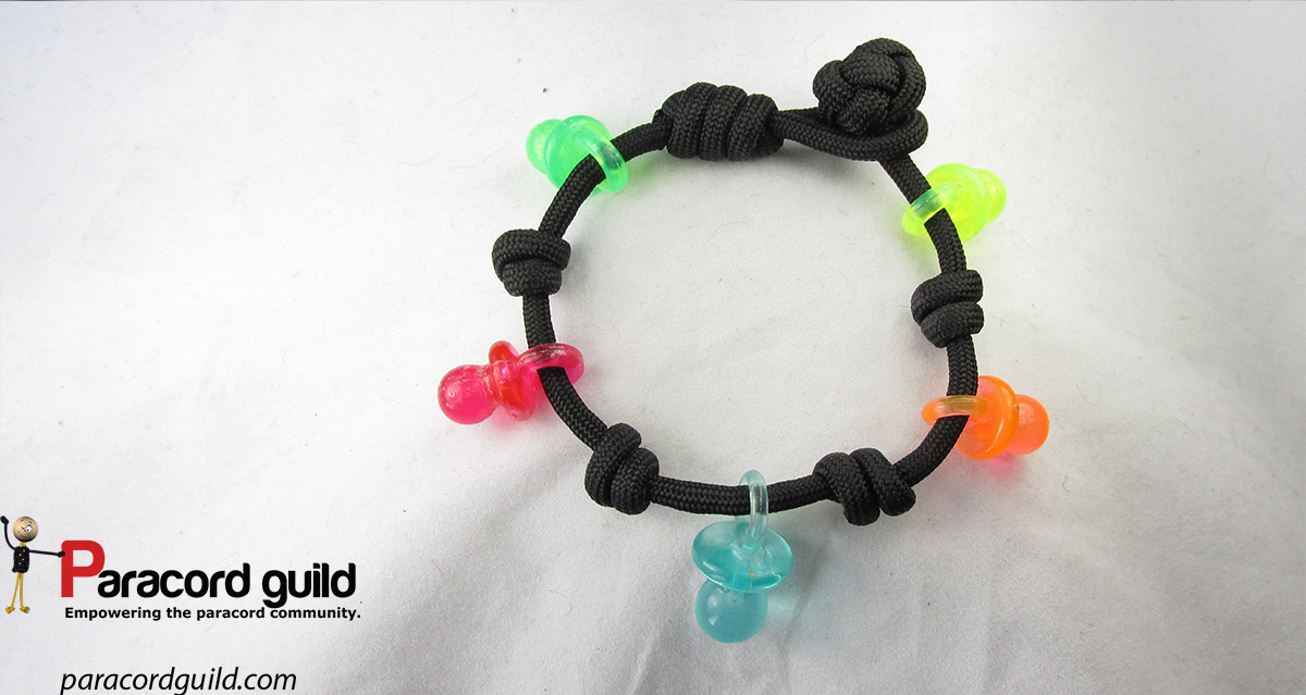 Small Pacifier Paracord Bracelet Another Look At The