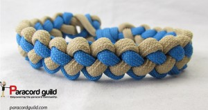 two color zipper sinnet bracelet