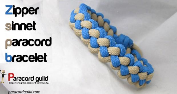 zipper-sinnet-paracord-bracelet-instructions