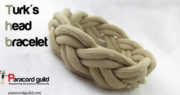 turks head paracord bracelet