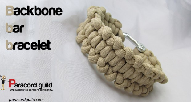 backbone bar paracord bracelet