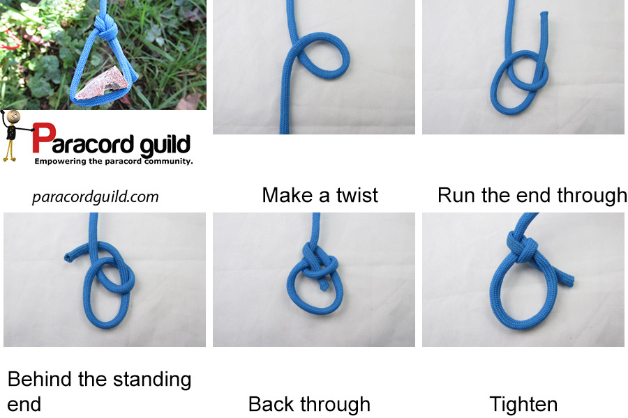91f9d5c811dbc2 How to tie the bowline knot - Paracord guild