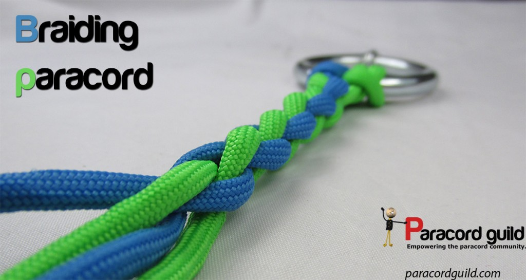 Braiding paracord the easy way - Paracord guild