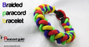 round braid paracord bracelet