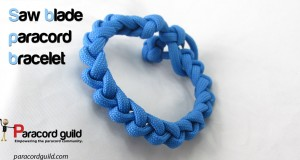 saw blade paracord bracelet