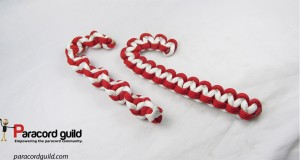 paracord candy cane
