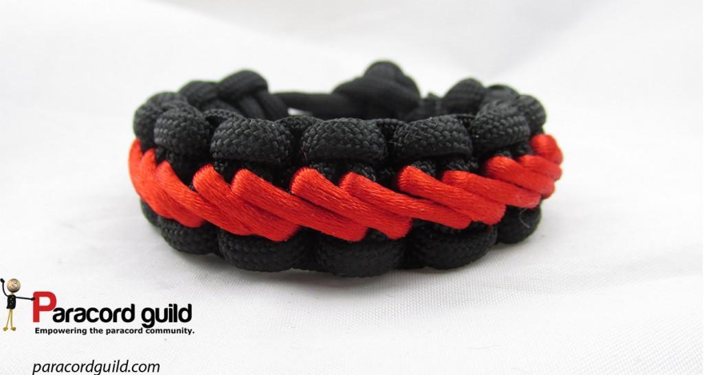 stairstep paracord bracelet