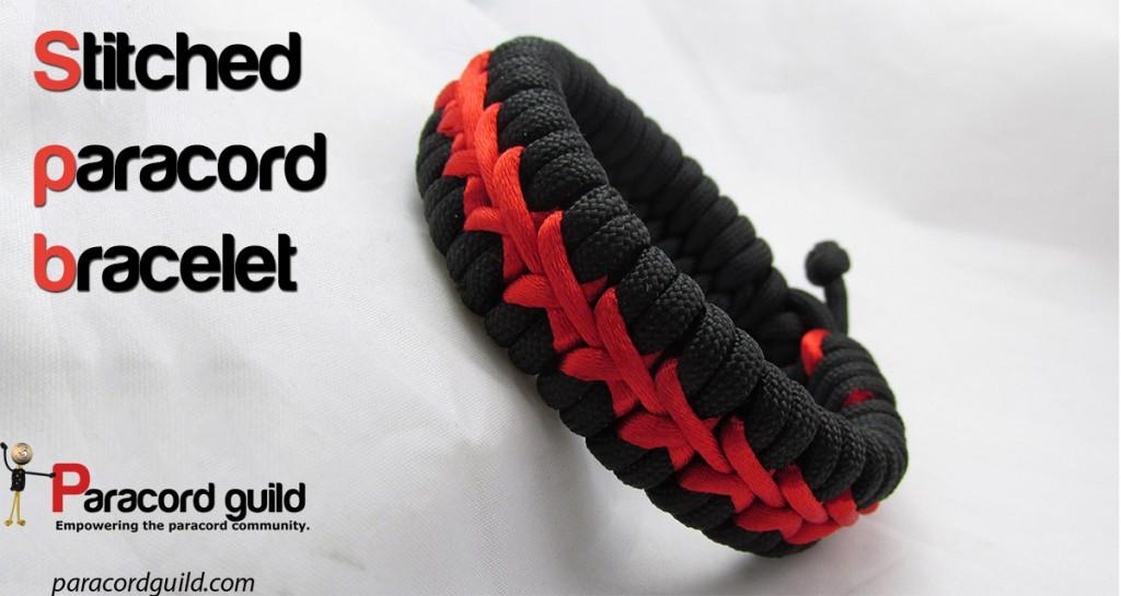 Stitched Paracord Bracelet Stitched-paracord-bracelet