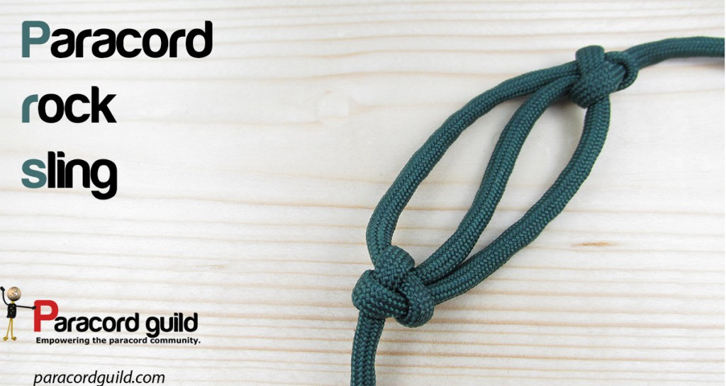 how to make a paracord rock sling paracord guild