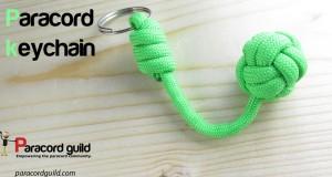 paracord-keychain